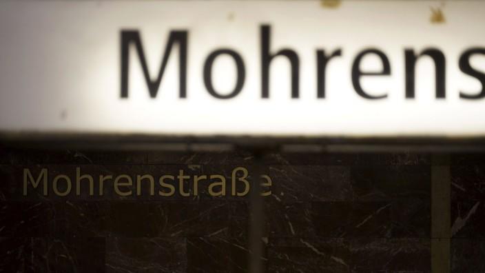 Der Berliner U-Bahnhof Mohrenstraße
