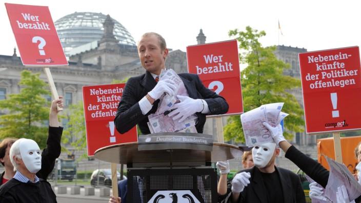 Protest vor dem Reichstag