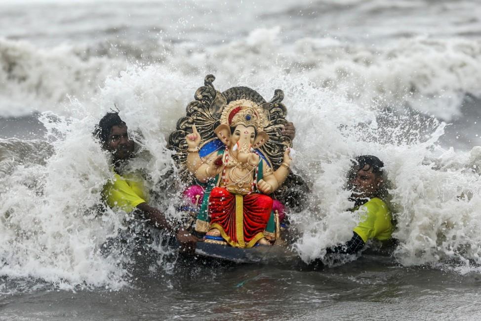 Ganesh Chaturthi festival in Mumbai