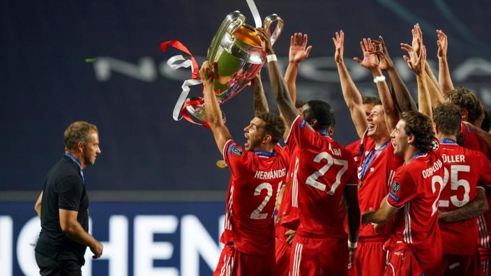 Final Football UEFA Champions League FC BAYERN MUENCHEN - PARIS ST. GERMAIN (PSG) Lisbon, Lissabon, Portugal, 23rd Augu