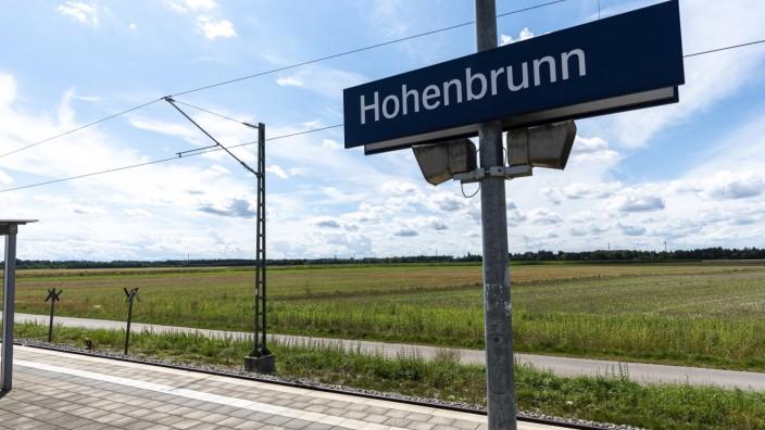 Entscheidung gefallen: Direkt am S-Bahnhof Hohenbrunn soll die neue Realschule im Münchner Südosten gebaut werden.