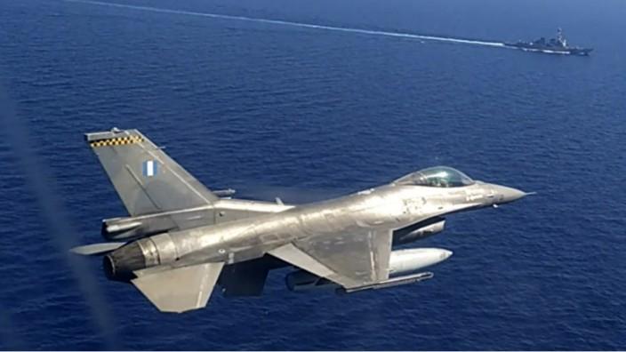 Militärübung in Griechenland