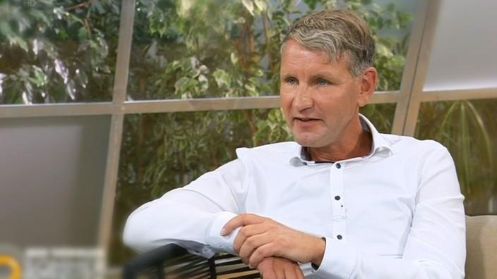 Björn Höcke im MDR-Interview