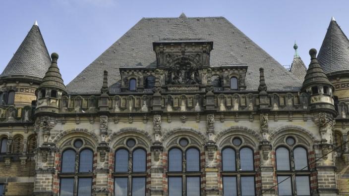 Landgericht, Domsheide, Bremen, Deutschland *** District Court, Domsheide, Bremen, Germany