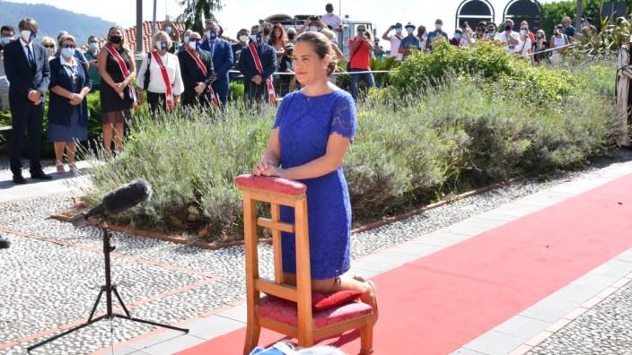 Prinzessin des selbsternannten Fürstentums Seborga