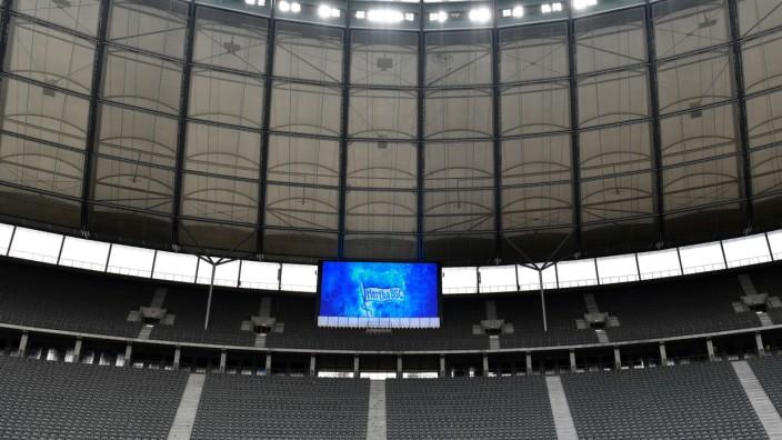 Hertha BSC - Leere Tribüne