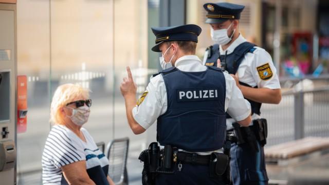 Bilanz nach Maskenkontrollen der Würzburger Polizei