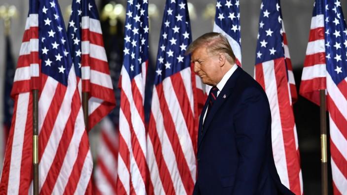 Donald Trump beim Parteitag der Republikaner 2020