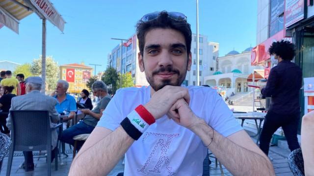 Menschenrechtsaktivist Ali Al Mikdam