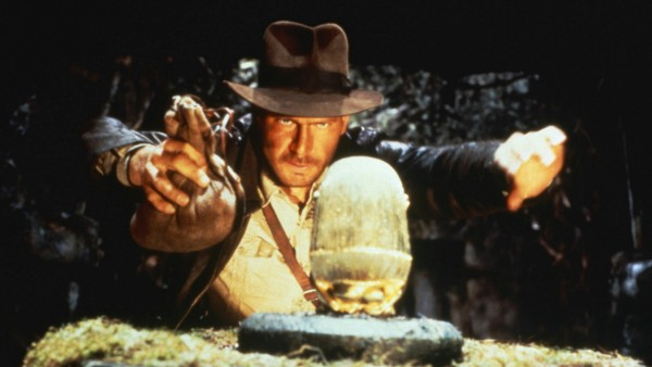 RAIDERS OF THE LOST ARK, Harrison Ford as Indiana Jones, 1981. Paramount/courtesy Everett Collection Paramount/Courtesy