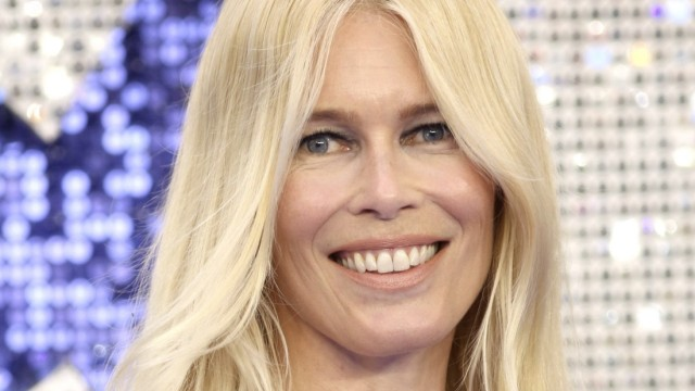 Claudia Schiffer at the premiere of the movie Rocketman at Odeon Leicester Square.  London, 05/20/2019 Claudia Ships