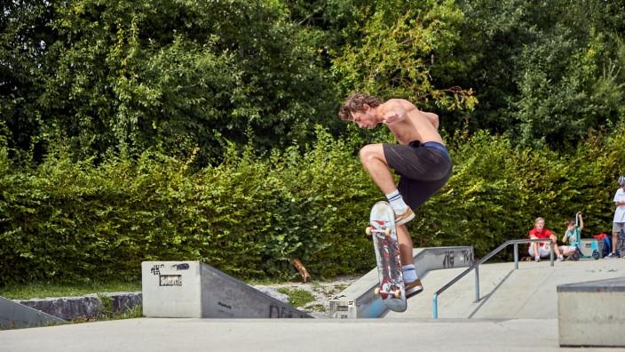 Skatepark Halfpipe Flintcenter Bad Tölz