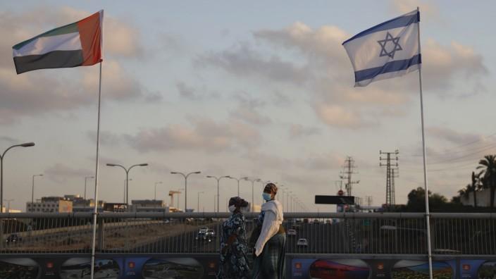 Nahostkonflikt: Die Beziehung zwischen Israel und den Vereinigten Arabischen Emiraten scheint sich zu bessern.