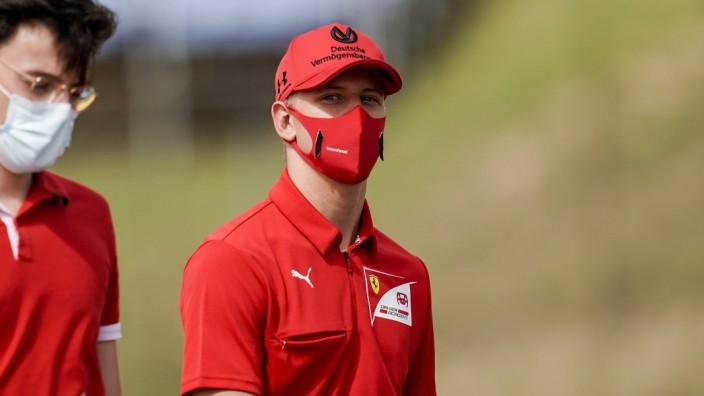 July 16, 2020, Mogyorod, Hungary: MICK SCHUMACHER of Germany and Prema Racing during the 2020 FIA Formula 2 Championshi; Mick Schumacher