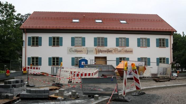 """Gasthof Karl Schauer wird saniert; Gasthaus """"Zum Fischmeister"""" in Possenhofen"""