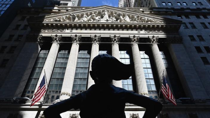 "Börse ""Wall Street"" (NYSE) in New York"