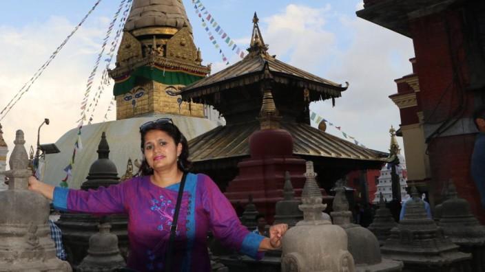 Nepal: Bis zum Lockdown führte Deepa Chaulagain Besucher durch Kathmandus historische Altstadt.