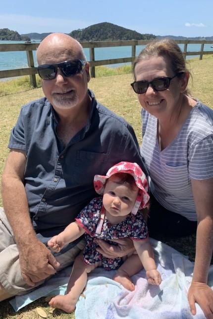 Paul, Barb, Luciene at Paihia Beach Hotelbetreiber auf Neuseeland
