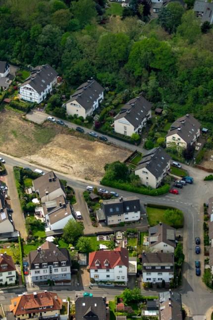 neue Baulücke Am Sonnenschein Gevelsberg Ruhrgebiet Nordrhein Westfalen Deutschland ACHTUNGxMIN