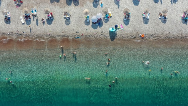 'Isolated' summer holiday destinations in Antalya