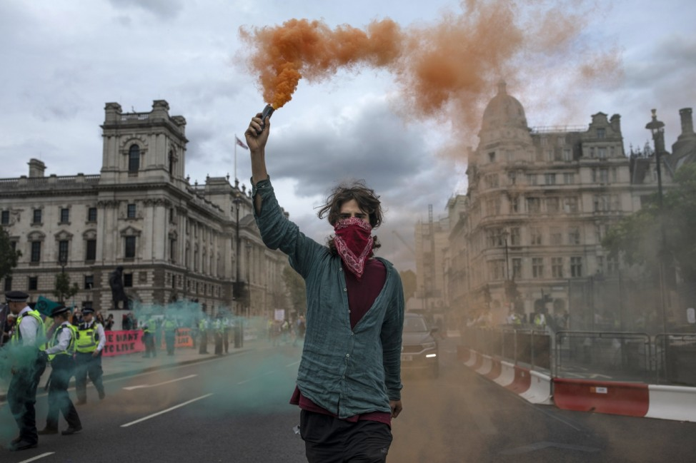 ***BESTPIX*** Extinction Rebellion Protests Resume After Pandemic Hiatus