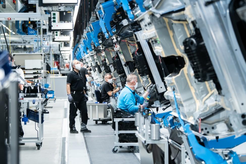 Daimler: Eröffnung der 'Factory 56'