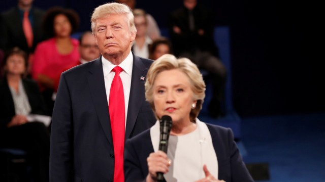 US-Wahl 2016: Donald Trump und Hillary Clinton