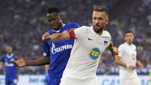 02.09.2018, Fussball GER, Saison 2018 2019, 1. Bundesliga, 2. Spieltag, FC Schalke 04 - Hertha BSC Berlin 0:2, v.re., V