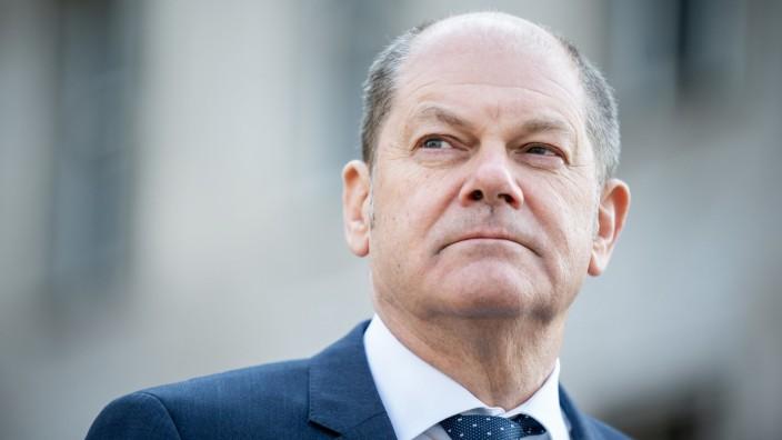 Bundesfinanzminister Olaf Scholz 2020 in Berlin