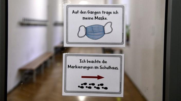 Schulen Bayern, Maskenpflicht