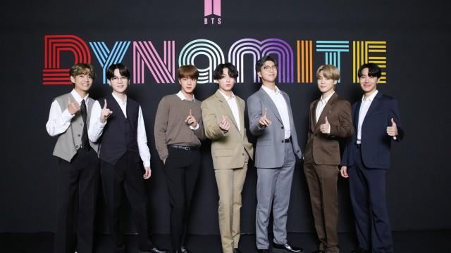 """Promis der Woche: Die K-Pop-Band """"BTS"""" bei einem Fotoshooting."""