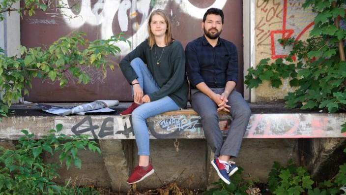 """Gesellschaft: Jungautoren Paula Lucia Rail und Mohammed Hosseini: """"Wir hätten es nicht ohne den anderen geschafft."""""""