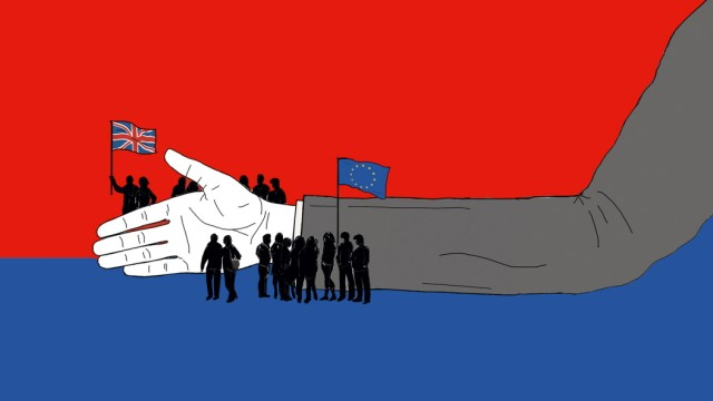 Brexit, Johnson, Grenze, Zoll, Thema des Tages