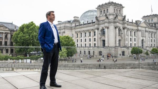 ARD-Sommerinterview mit dem CSU-Vorsitzenden Söder