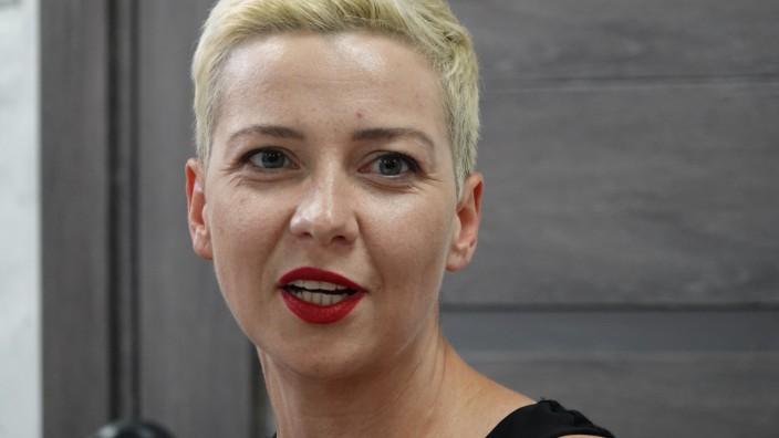 Oppositionelle Kolesnikowa gründet in Minsk neue Partei
