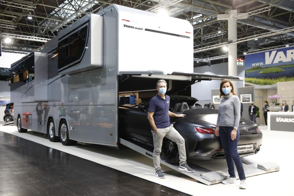 Premium-Reisemobil: Vario Perfect 1200 PLATINUM  Variomobil Fahrzeugbau GmbH, Halle 5 C 05