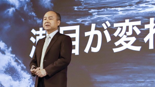 February 12, 2020, Tokyo, Japan: Masayoshi Son President and CEO of SoftBank Group speaks during a news conference to an