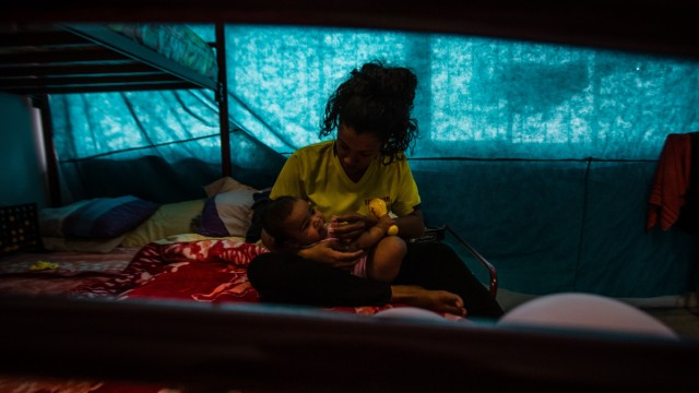 Venezuelan Migrants In Humanitarian Aid Shelters