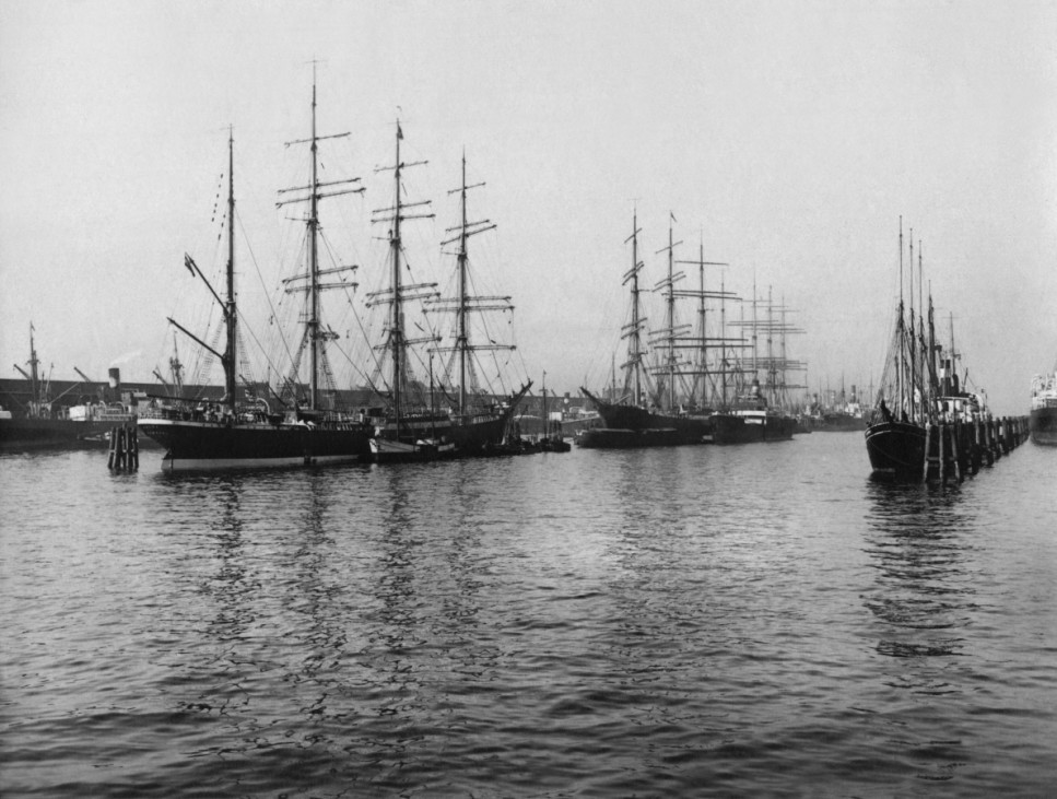 Schifffahrt, Segelschiff