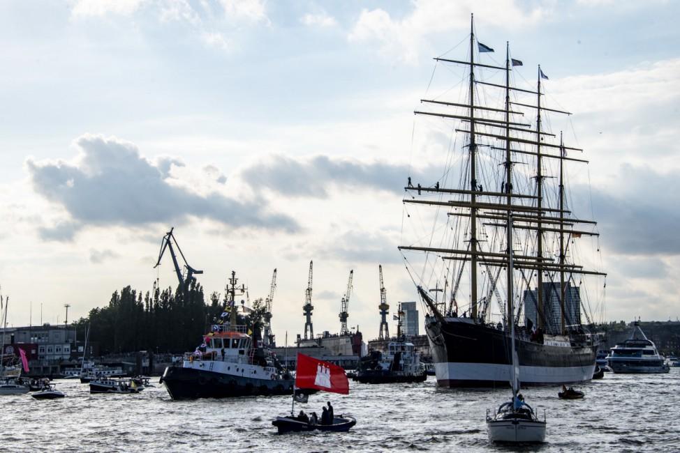 Die 'Peking' kehrt nach 88 Jahren nach Hamburg zurück