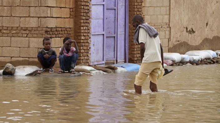 Sudan: Überschwemmung in der Hauptstadt Khartum