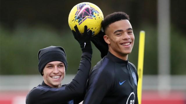 FILE PHOTO: Euro Under 21 Qualifier - England Under 21 Training