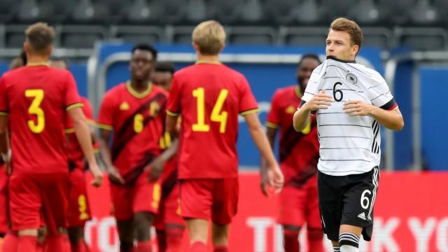 Belgium U21 v Germany U21 - UEFA Euro Under 21 Qualifier