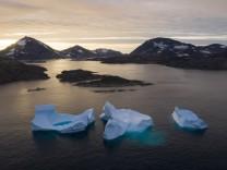 Klimawandel: Grönland wird von unten ausgehöhlt