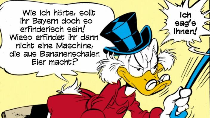 Donald Duck in München