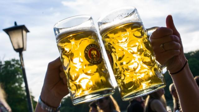 Biergarten - Bier
