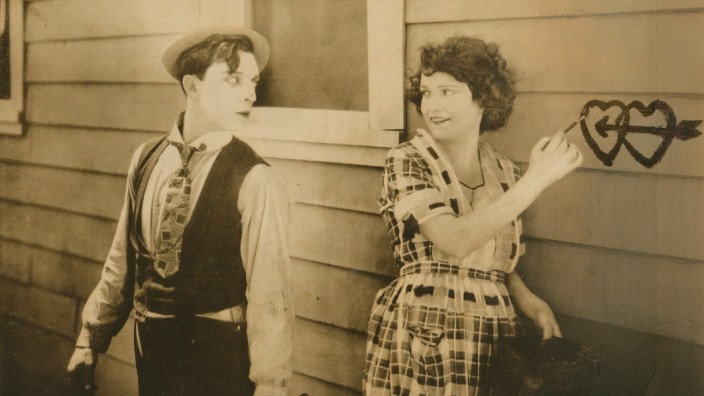 ONE WEEK, Buster Keaton, Sybil Seely, 1920. For usage credit please use; Courtesy Everett Collection !ACHTUNG AUFNAHMED