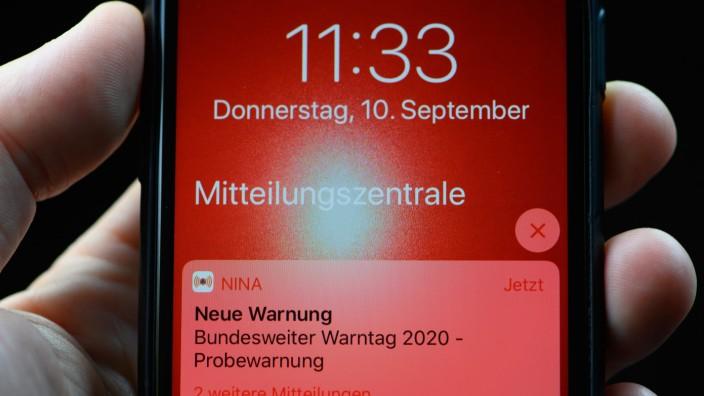 Bundesweiter Warntag -  Sachsen