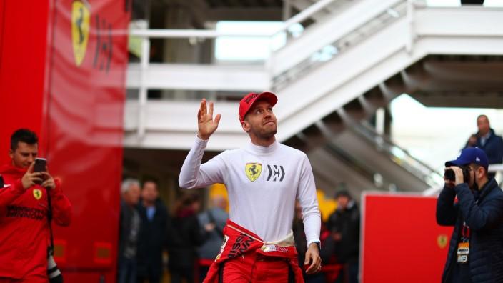 2020 Bilder des Jahres, Sport 02 Februar Sport Themen der Woche KW09 Sport Bilder des Tages 05 Sebastian Vettel, Scuder