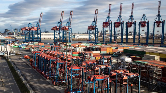 Hamburger Hafen: Container Terminal Tollerort (CTT)